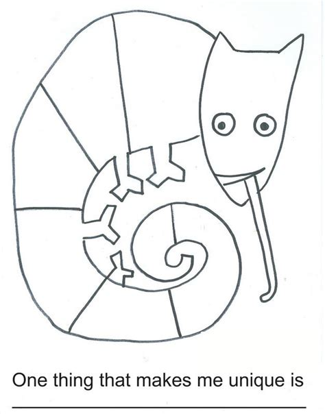 Mixed Up Chameleon Coloring Page mixed up chameleon coloring page az coloring pages