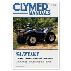Suzuki King 300 Manual Suzuki Lt250 250 4x4 King 300 Atv Repair Service