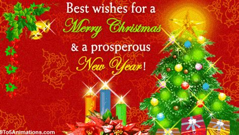 merry christmas  happy  year wishes gif toanimationscom hd wallpapers gifs