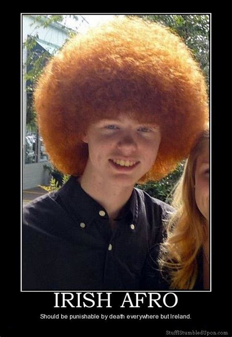Irish Girl Sunbathing Meme - irish afro redhead afro meme joke lol funny jpg 640 215 929
