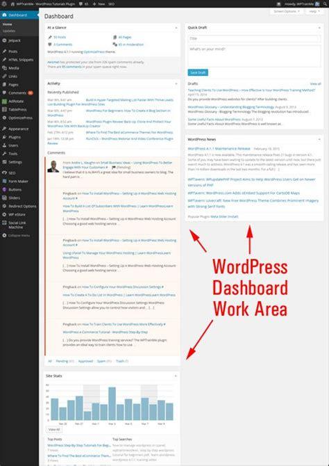 tutorial wordpress dashboard tutorial customizing the wordpress dashboard