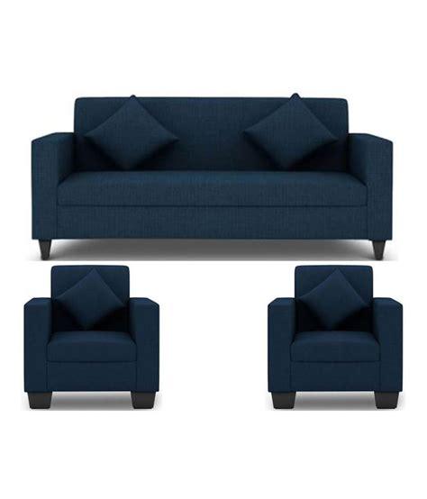 royal blue color sofa set elite shop westido 5 seater sofa set in royal blue