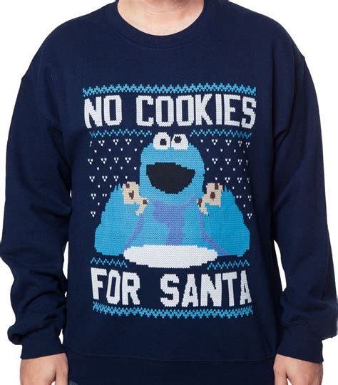 Cookie Sweater cookie faux sweater sweatshirts mens sweatshirts and