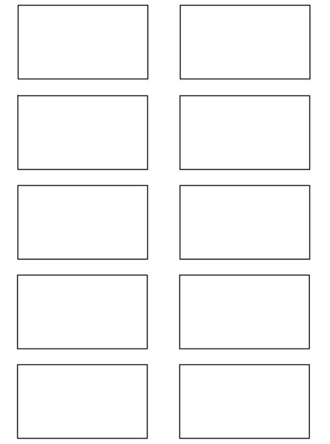 storyboard template 2 larger by kobb on deviantart