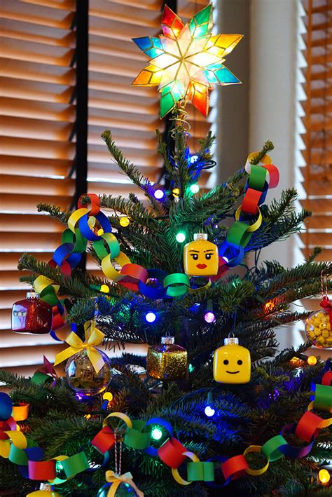 Lego Tree Decorations by Lego Themed Tree Happiness Is