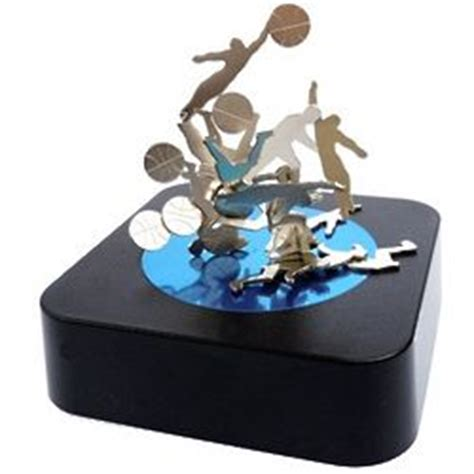 basketball magnetic sculpture desk findgift