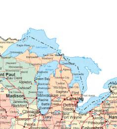 Maps Of Usa With States by Upper Midwest Map Regional