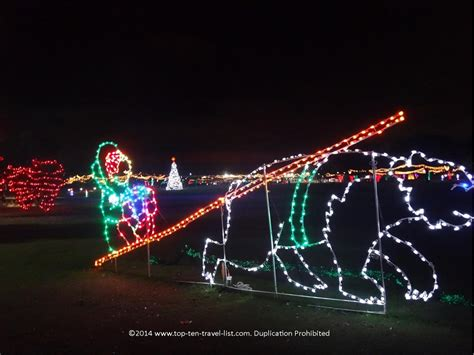 largo central park holiday lights the best holiday 2017