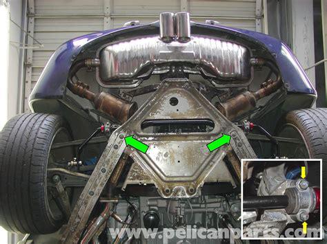 transmission control 2000 porsche boxster spare parts catalogs porsche boxster rear suspension support and pedro bar 986 987 1997 08 pelican parts