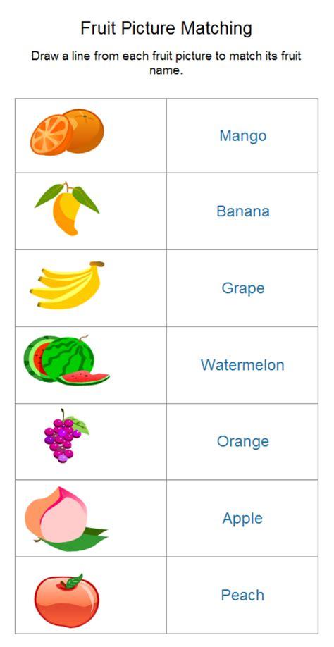 Fruit Worksheet   Free Fruit Worksheet Templates