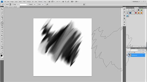 photoshop smudge brush painting tutorial how to create abstract smudge brushes in photoshop youtube