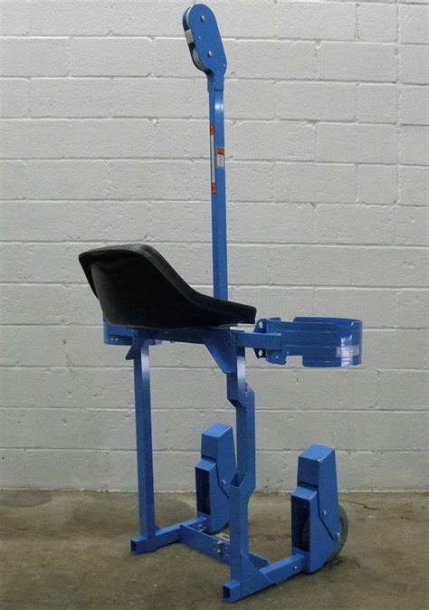 tractel hoist bosun chair tractel chair lisbon hoist - Electric Boatswain S Chair