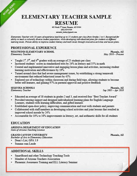 skills and abilities on resume examples 75 images doc 9271200