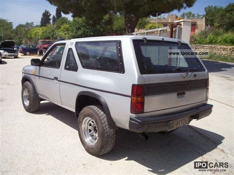 nissan terrano 1990 1990 nissan terrano 2700 td car photo and specs