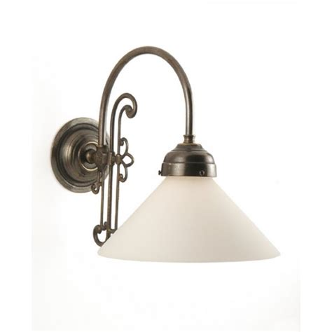 Period Lighting by Classic Made Single Wall Light With Choice Of Shades