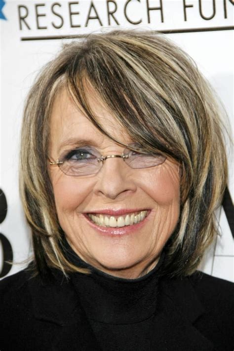 diane keatons layer haircut diane keaton hairstyle pictures 17 best images about personal style on pinterest barbra