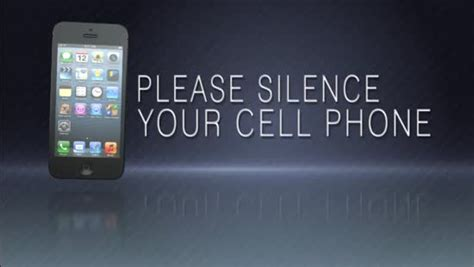 your home from your phone silence your cell phone for church