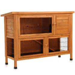 Rabbit Hutch Sale Rabbit Hutch N Down Double On Sale Free Uk Delivery