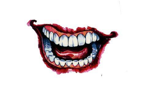 joker smile tattoo pin by n o n a m e on joker joker