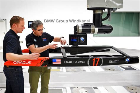 oracle racing boat bmw s ties with oracle team usa in the america s cup run deep