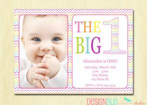 rainbow birthday invitation baby diy photo