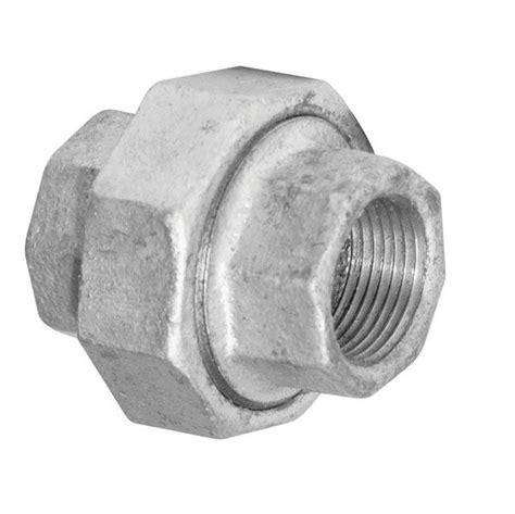 Union Fitting Plumbing by Aqua Dynamic Fitting Galvanized Iron Union 1 2 Inch The