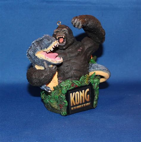 carlton heirloom magic ornament 2006 king kong kong to
