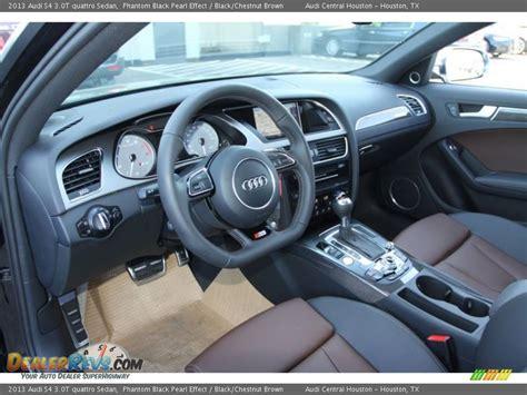 Audi A4 Chestnut Brown Interior by Black Chestnut Brown Interior 2013 Audi S4 3 0t Quattro