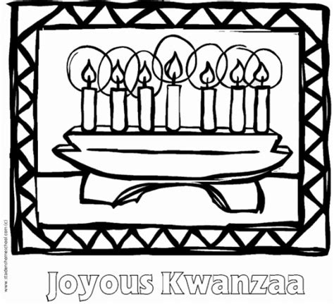 kwanzaa free colouring pages