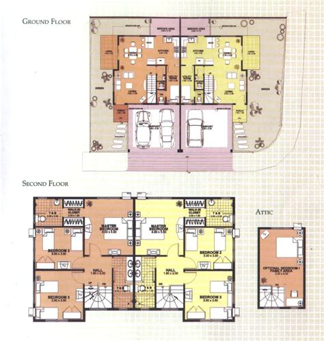 slab duplex plans studio design gallery best design