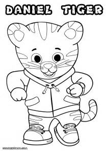 daniel tiger coloring daniel tiger coloring pages coloring pages to