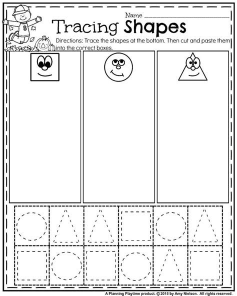 printable shapes cut and paste best 25 cut and paste worksheets ideas on pinterest cut