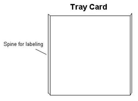 cd tray template tray card anaphora discs
