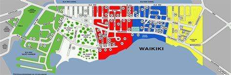 waikiki restaurants map  restaurants