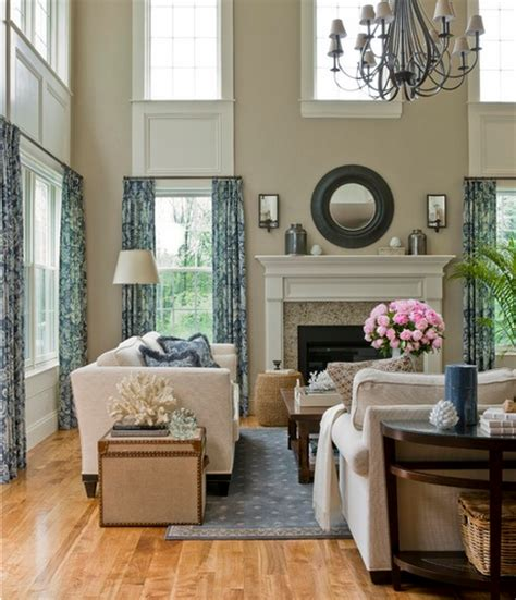 2 story living room decorating ideas working with ceilings emily a clark