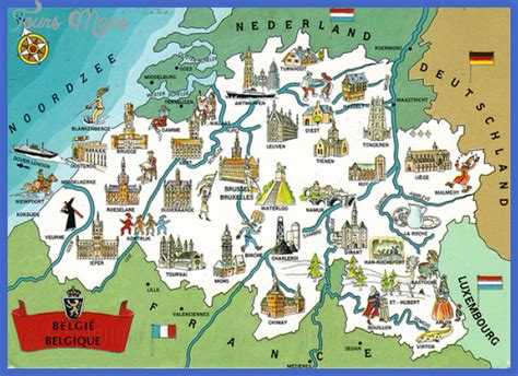 belgium brussels map maps update 12001337 brussels tourist attractions map