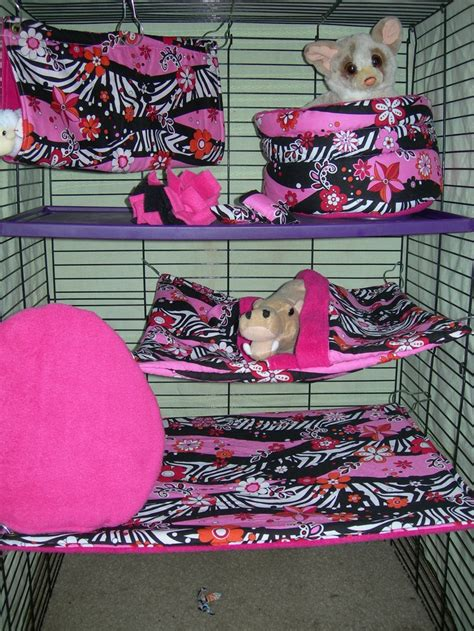 8 Pc Ferret Bedding Cage Set