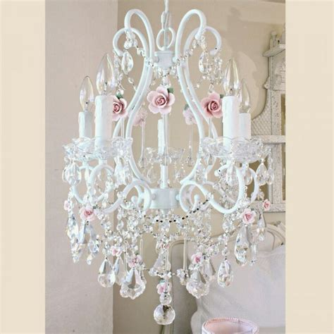 shabby chic bedroom chandelier shabby chic chandelier shabby chic chandeliers pinterest