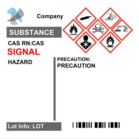printable ghs labels avery 174 60506 ultraduty ghs chemical labels 2 quot x 2