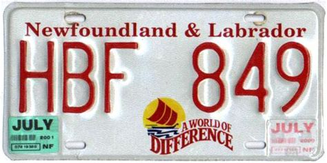 Newfoundland Island Windshield Sticker