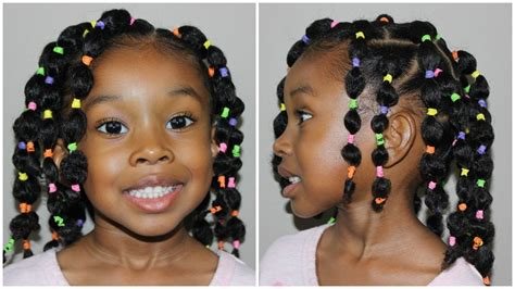 hairstyles in bubble look pinterest inspired bubble ponytail s kids natural