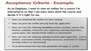 acceptance criteria template agilevideos 9 3 getting the story details and