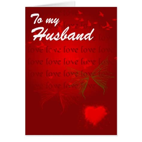 card for husband printable hearts for husband greeting card zazzle