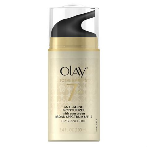 Olay Total Effect Anti Aging olay total effects 7 in 1 anti aging moisturizer 3 4 oz