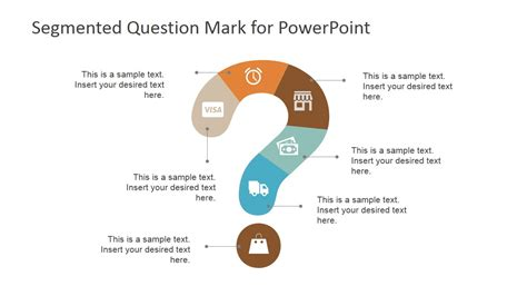process layout questions segmented question mark design for powerpoint slidemodel