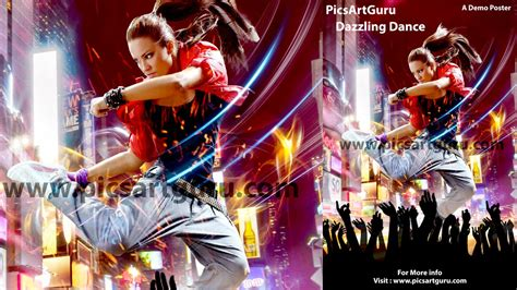 tutorial poster ff picsart picsart tutorial how to make dazzling dance photo poster
