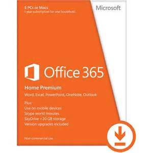 Microsoft Office 365 Microsoft Office 365 Home Premium 2013 6gq 00091 B H Photo