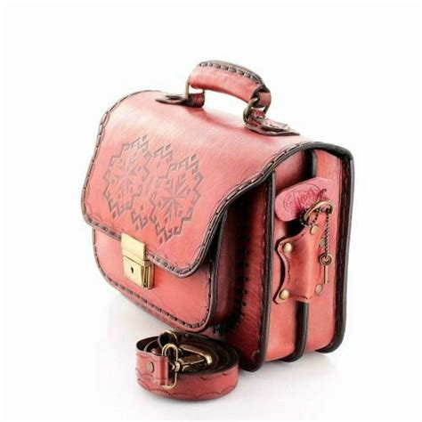 Handcrafted Leather Goods - handcrafted leather goods motif rog messenger
