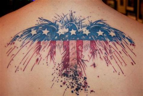 eagle with american flag tattoo designs patriotic tattoos designs ideas and meaning tattoos for you