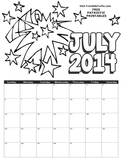 2015 calendar coloring page july 2015 calendar colouring pages